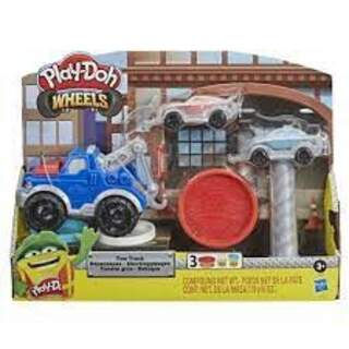 Play-Doh Çalışkan Çekici Kamyon