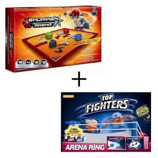 Shuriken Savaşçıları + Top Fighters İkili Oyun Paketi