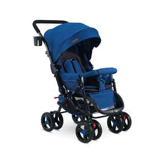 604 Bebek Arabası Çift Yönlü Mavi